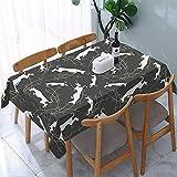 Ibizan Hounds - Mantel rectangular para mesa (137 x 183 cm)