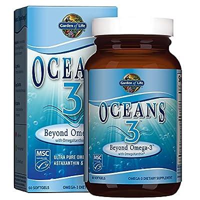 Garden of Life Oceans 3 - Beyond Omega 3 60 Softgels