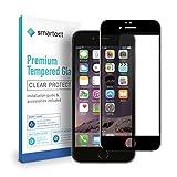 smartect Cristal Templado para Móvil iPhone 6 / 6s [3D CURVADO] - Protector de pantalla 9H - Diseño ultrafino - Instalación sin burbujas - Anti-huella