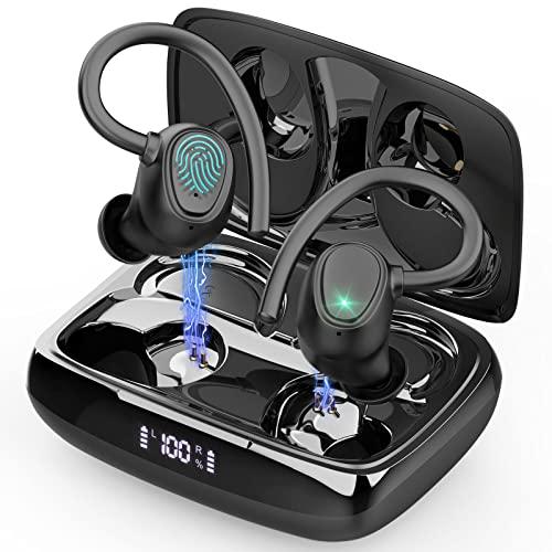 Rinsmola Wireless Earbud, Bluetooth 5.1 Headphones Sport Wireless Earphones in Ear 6D Stereo Noise...