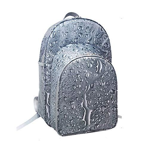 FBKPHSS Zaino da Picnic per 2 Persone, Impermeabile Zaino da Picnic con Stoviglie Refrigerazione e Isolamento Zaino da Picnic per Campeggio Viaggio