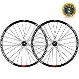 Superteam Full Carbon Mountain Bicycle Wheel 29' MTB Hookless Rim with Thru-Axle Hub