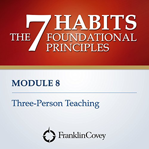 Couverture de Module 8 - Three-Person Teaching