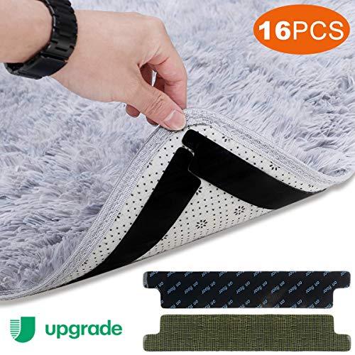 Safetyon Antislipmat, 16-delig, antislipstickers voor tapijt, ondertapijt, antislip, voor tapijt