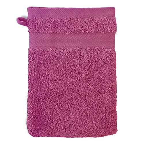 Gant de Toilette 16x21 cm Royal Cresent Rose Vin 650 g/m2