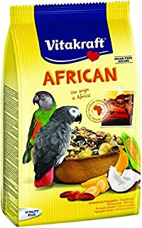 Vitakraft B-08320 Daily Nutrition for African Parrots, 750 gm