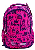 St.Right Princess Love Rucksack Grundschule 20 Liter Ergonomisch Schulranzen Schultasche Schulrucksack Mädchen 1. Klasse Pink Teenager ab 6 Jahre für Outdoor,...