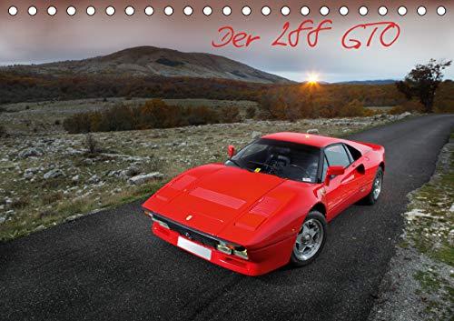 Ferrari 288 GTO (Tischkalender 2021 DIN A5 quer): Traum in Rosso Corsa (Monatskalender, 14 Seiten ) (CALVENDO Mobilitaet)