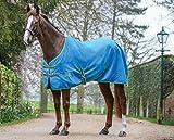 Weatherbeeta Standard Baumwolle Pferdedecke (125cm) (Marineblau/Rot/Weiß)