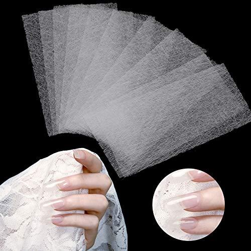 10 pcs Non-tissé Soies Nail Art Extension Manucure Outil-pour les Experts Professionnels des Ongles, Nail Art Apprenants