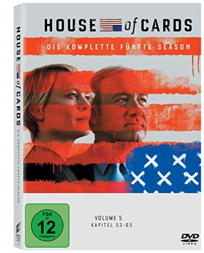 House of Cards - Die komplette fünfte Season (4 Discs) [DVD]