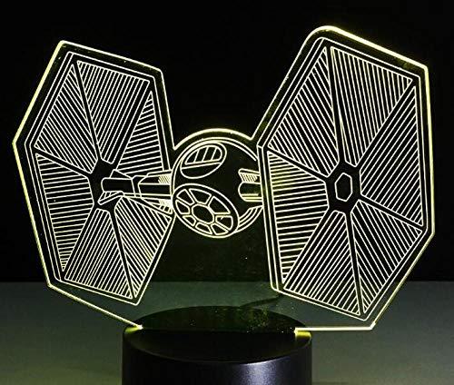 Star Wars Darth Vader 3D Led Lampe De Table Veilleuse 7 Enfants Colorés Éclairage Cadeau Bébé Veilleuse Led Nouveauté Lightsusb Rechargeable Femme Mari Fils Fille Père Papa Maman Petit Cadeau Cadeau D