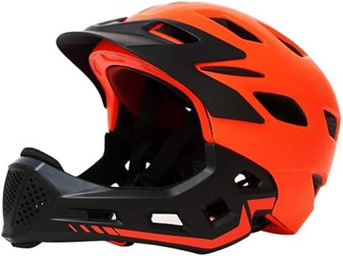 Tienda de moda y compras online. WHL WHL WHL Casco de Bicicleta para Niños Casco de Bicicleta para Niños Diapositiva Equilibrio Velocidad Patinaje de Montaña Casco Integral Cara Desmontable Casco para Niños de Alta projoección  envío gratis
