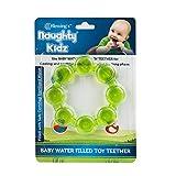 Naughty Kidz Premium Ring Shape Cooling Teether-BPA Free and Non Toxic (Green)
