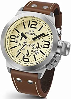 TW Steel Watch for Men, Leather, TW-5