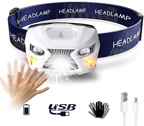 ca 96 g Lampada frontale con sensore per controllo automatico della luce