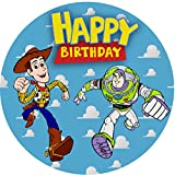 7.5 Inch Edible Cake Toppers – Toy Story 2 Themed Birthday Party Collection of Edible Cake Decorations