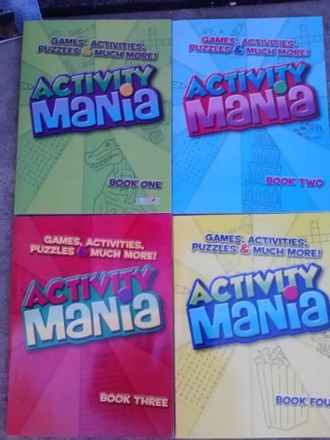 Activity Mania, Games, Activities, Puzzles, & Much More (Assorted, Designs Vary) by Chelsea Davenport [2013] by Bendon