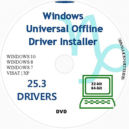 Universal 2021 Offline Driver Install Automatic Complete Device DVD Windows 10 7 XP 8 Vista Supports Sony Acer Asus Lenovo Compaq IBM eMachines HP Dell Toshiba Gateway Safety Restore Point