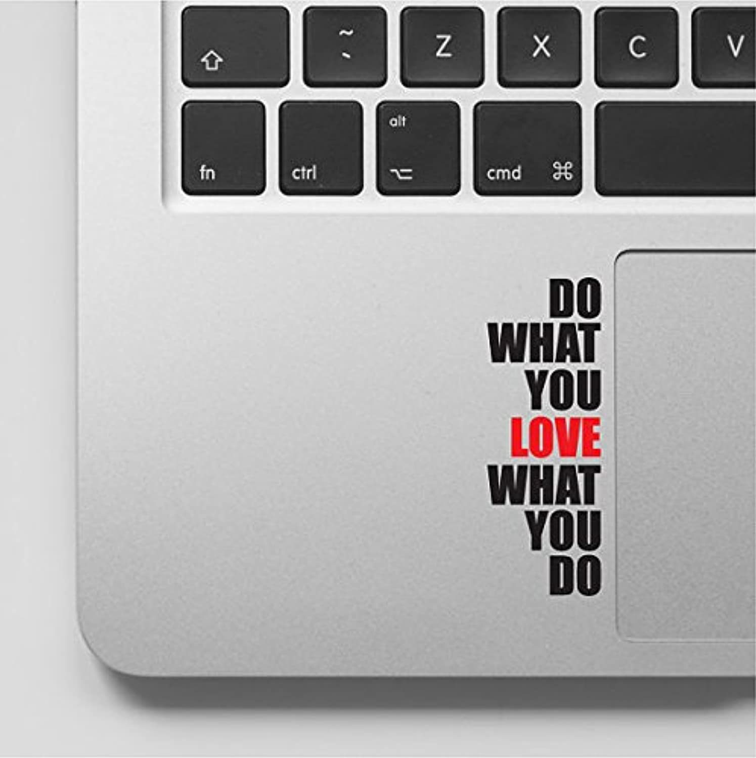 Do what you love Motivational Inspirational Quote Laptop Macbook Sticker Decal - WD-87