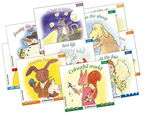 Time for stories. Pfiffige Bild-Text-Hefte für Klasse 3 bis 6 / Time for stories, Heft 1 - 10, Kennenlernpaket: (je Heft 1 Exemplar) 3. - 6. Schuljahr
