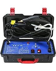110V220V高圧および高温水スプレーガン電気スチームクリーナー湿度は車のキッチンフード用に調整可能