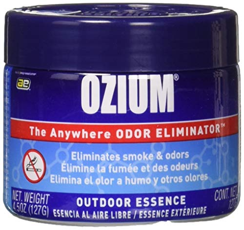 Ozium Oziu Regular Smoke & Odors Eliminator Gel. Home, Office and Car Air Freshener 4.5oz (127g),...