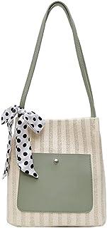 Shoulder Bags fashion portable Bucket bag Green