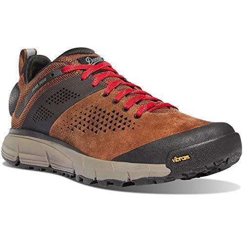 """Danner - Mens Trail 2650 3"""" Sneakers, 9.5 M UK, Brown/Red"""