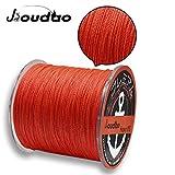 JIOUDAO Angelschnur Hochleistungsstarke Superline 10LB-100LB 300m (328 Yards) 4 und 8 Stränge PE...