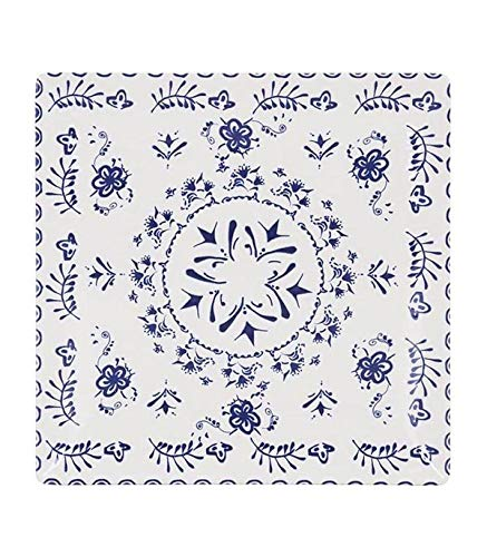 La Mediterranea 145249 Plato Llano Blur, Multicolor, 24.4 cm, 6 Piezas