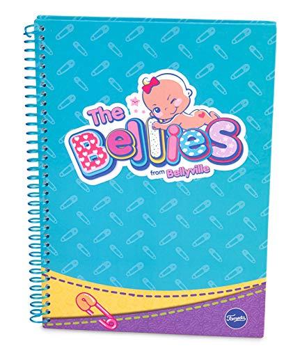 The Bellies - Libreta Mediana (A5) Bellies, niñas a Partir de 3 años (Famosa 760018194)