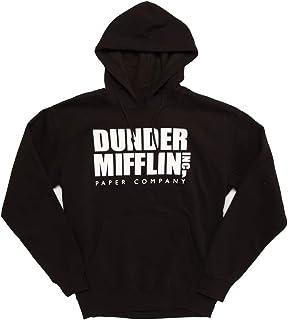 Ripple Junction The Office Dunder Mifflin Logo Adult Hoodie
