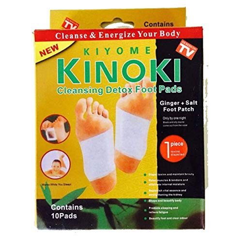 ASS Kinoki Cleansing detox foot pad for remove toxins, increase metabolism and energy level (Pack of 20 PCS)