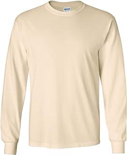 Gildan Ultra Cotton 6 oz. Long-Sleeve T-Shirt (G240) NATURAL
