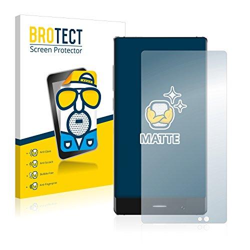 BROTECT 2X Entspiegelungs-Schutzfolie kompatibel mit Umidigi Crystal Bildschirmschutz-Folie Matt, Anti-Reflex, Anti-Fingerprint