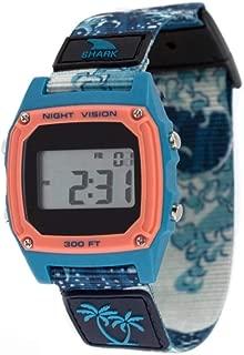 Luke Davis Signature Shark Classic Clip Blue Wave Unisex Watch FS101001