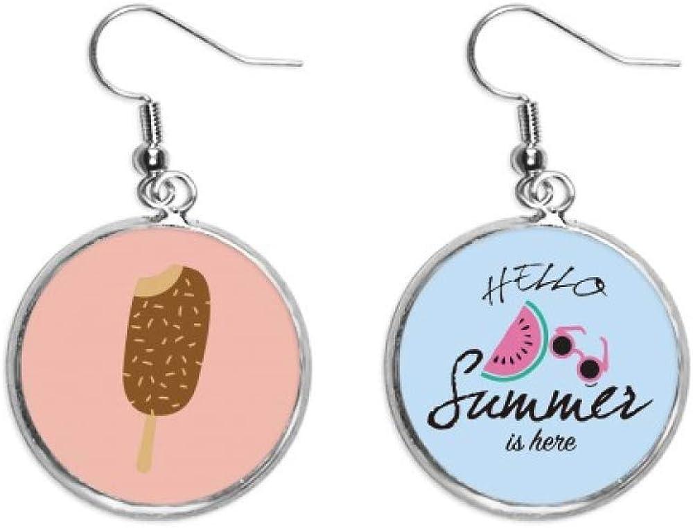 Max 79% OFF Crispy Chocolate Sweet Ice Cream Watermelon Summer Max 76% OFF Earr Ear Drop