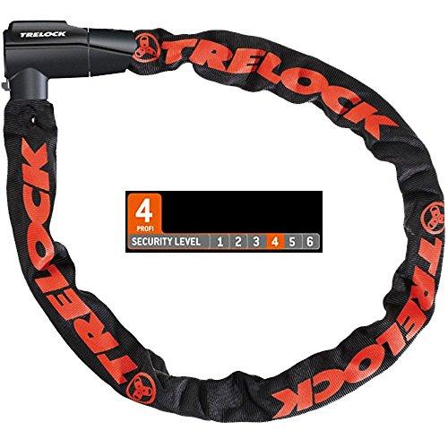Trelock Unisex– Erwachsene Kettenschloss-2232513927 Kettenschlösser, schwarz, One Size