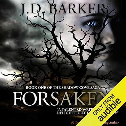 Diseño de la portada del título Forsaken: Book One of the Shadow Cove Saga