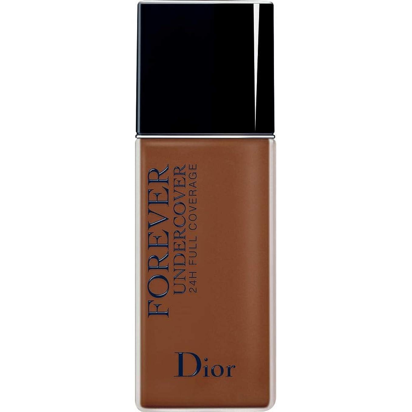 顧問天井西部[Dior ] ディオールディオールスキン永遠アンダーカバーフルカバーの基礎40ミリリットル070 - ダークブラウン - DIOR Diorskin Forever Undercover Full Coverage Foundation 40ml 070 - Dark Brown [並行輸入品]