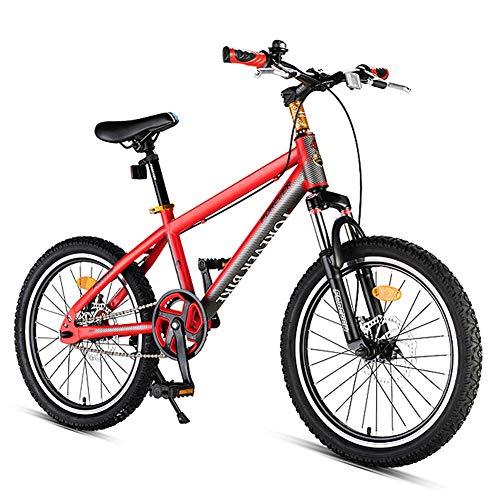 Nengge Kinderfiets, mountainbike, frame van staal, hoog gehalte van carbon, dubbele schijfrem voor fietsen
