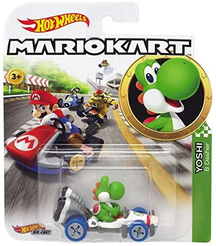 Yoshi - B-Dasher - Mario Kart - 1/64 - Hot Wheels
