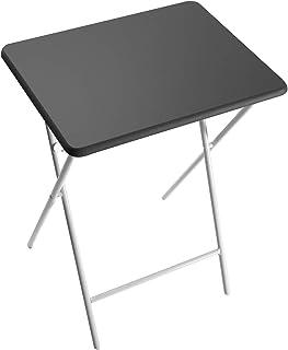 Versa Mesa Plegable Lyon Negro 66x38x48 cm