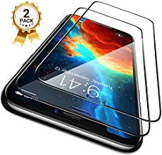 CASEKOO [Shatterproof] Compatible with iPhone 11 Screen Protector iPhone XR Screen Protector [Full Coverage] Clear Tempered Glass for iPhone 11/XR [6.1inch] - (2-Pack)