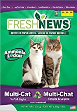Fresh News Paper Cat Litter Multi-Cat Litter, Gray, 14 lb