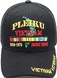 U.S. Warrior's PLEIKU Vietnam Veteran Cap Black