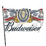 Roman Lin Welcome Gartenflagge,Willkommensflagge,Garten Fahne Vertikal,Politische Flaggen,Budweiser Bier Im Freien Banner,Haus Hof Dekoration,Hausgarten Flaggen,3X5 Ft