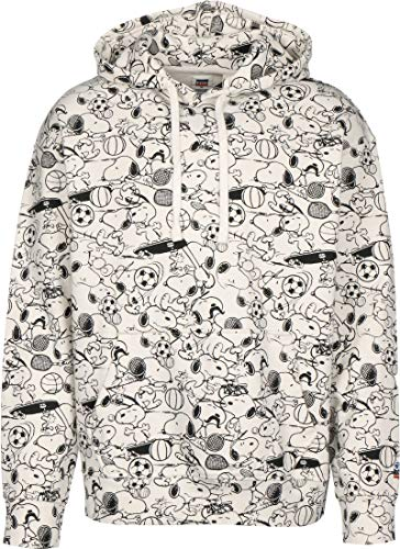 Levis x Peanuts Relaxed Graphic Hoodie Snoopy All-Over-Print XS