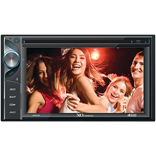 """XOVISION XOD182 6.2"""" Large Touch Screen Best GPS Navigation With DVD CD Bluetooth Backup Camera Receiver for Cars Vehicles"""